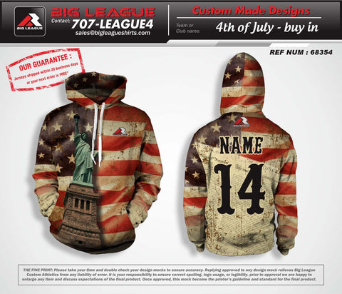 4th of July - Hoodie - Buy In