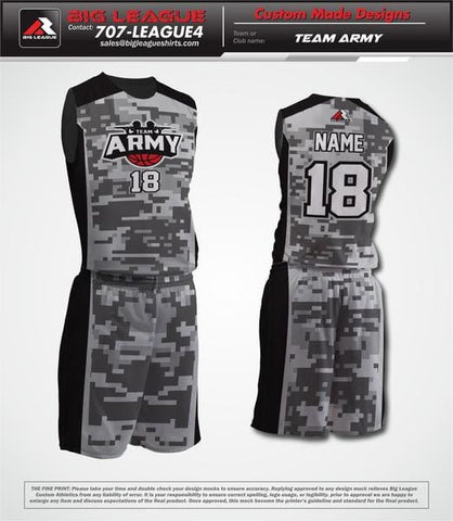 Army - Basketball