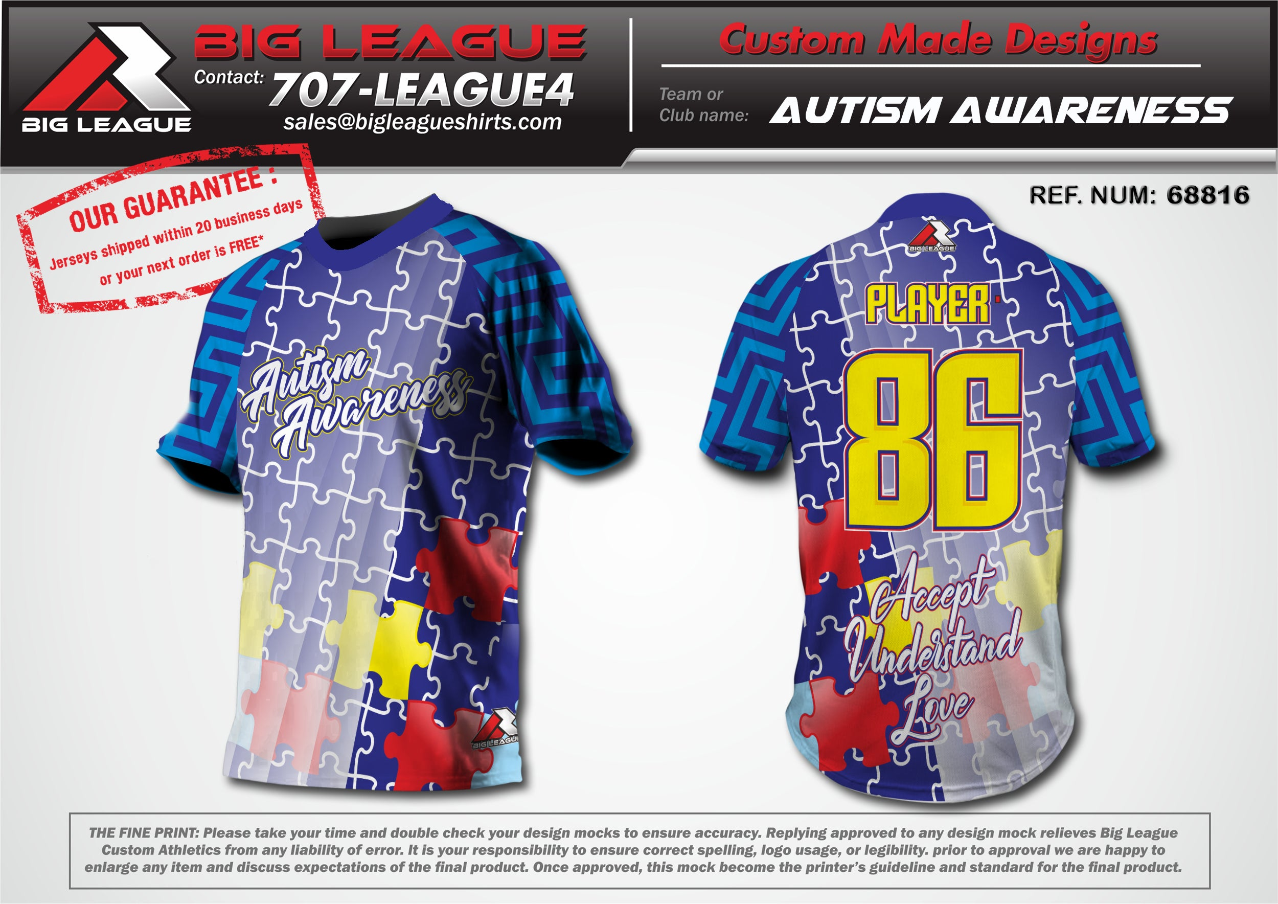 Autism Awareness - Buy In