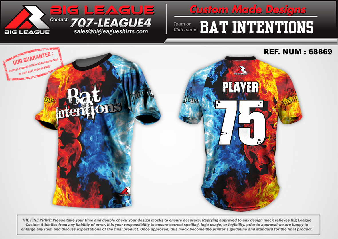 Bat Intentions - Softball - Buy In