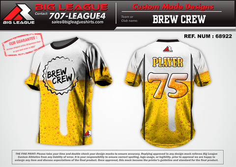 Brew Crew - Softball - Buy In