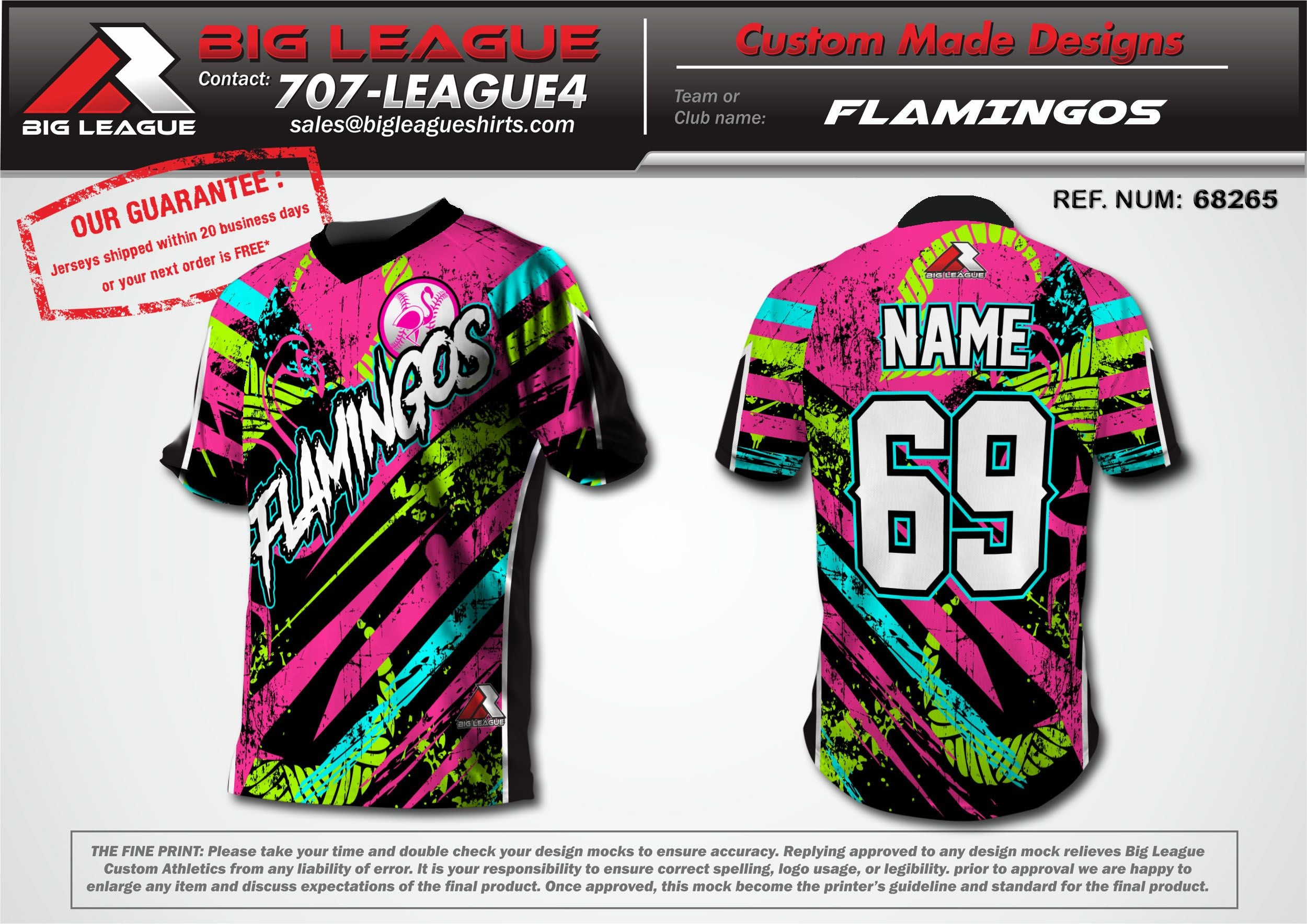 Flamingos - Softball