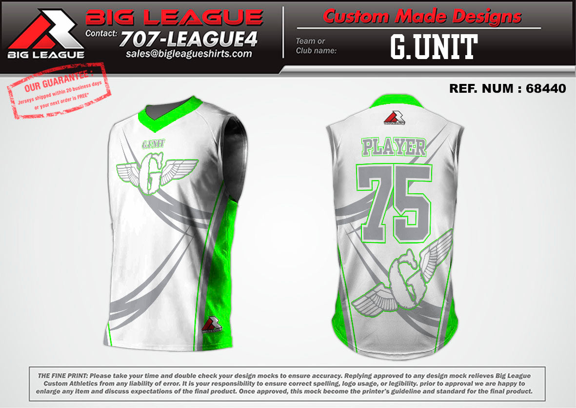 G-Unit Sleeveless - Compression - Flag Football