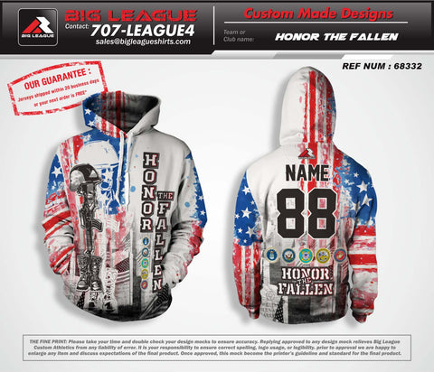 Honor the Fallen - Hoodie