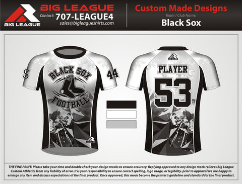Black Sox - Compression - Flag Football