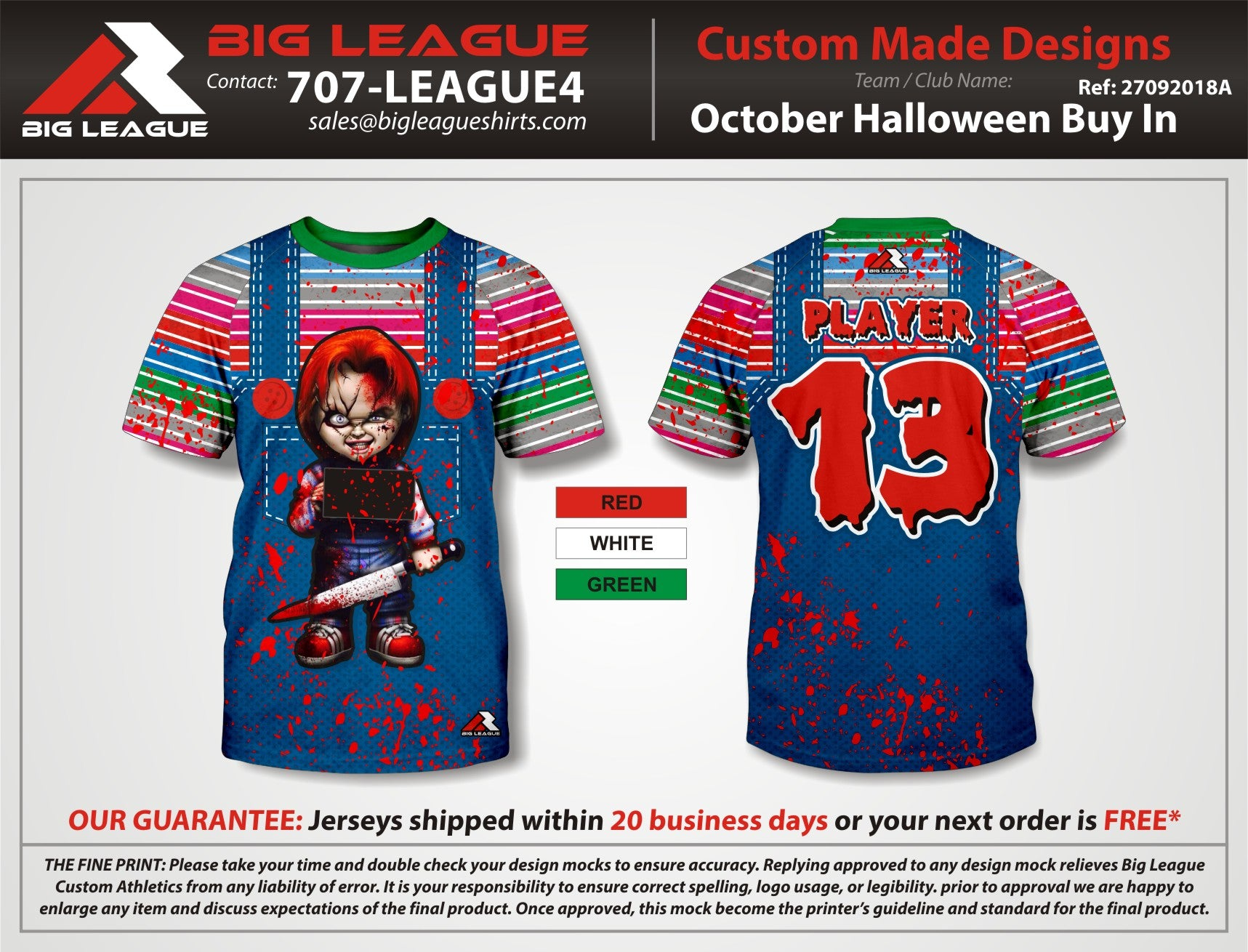 Halloween Chucky - Buy In