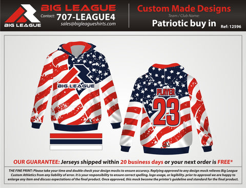 Big League Patriot - Hoodie - Buy In