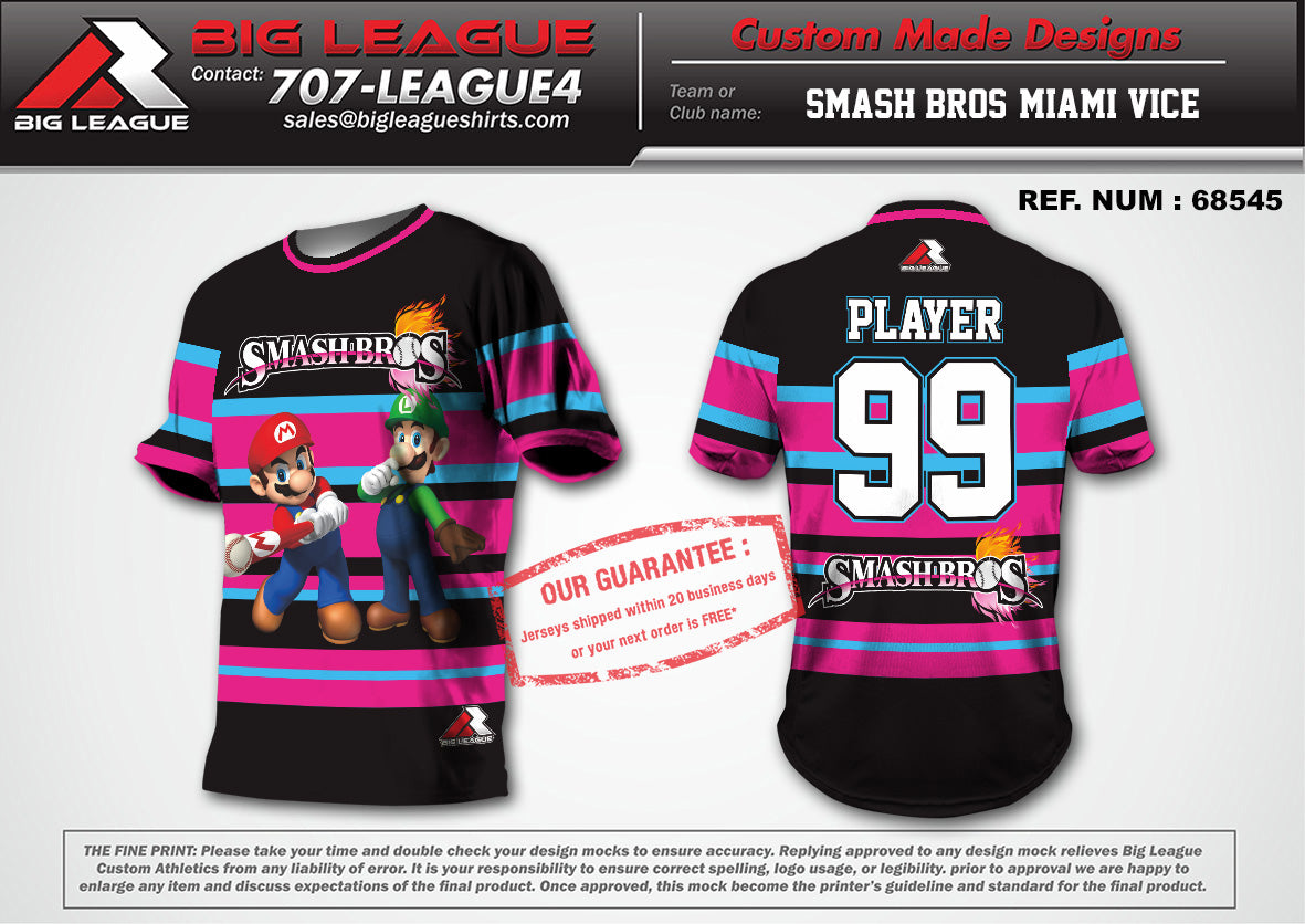 Smash Bros Black/Pink - Buy In