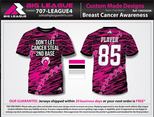 Breast Cancer Awareness - Buy In