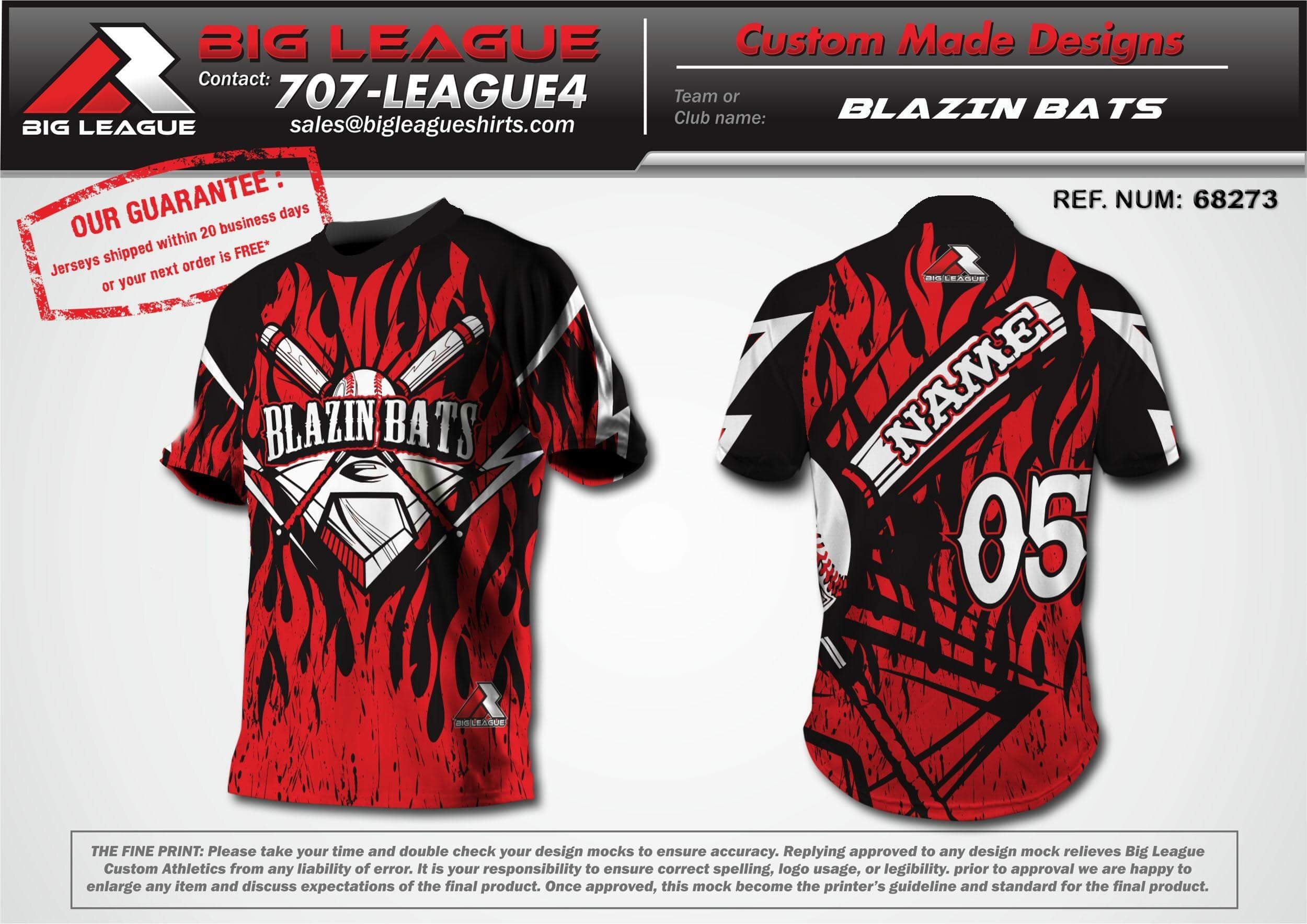Blazin Bats - Softball