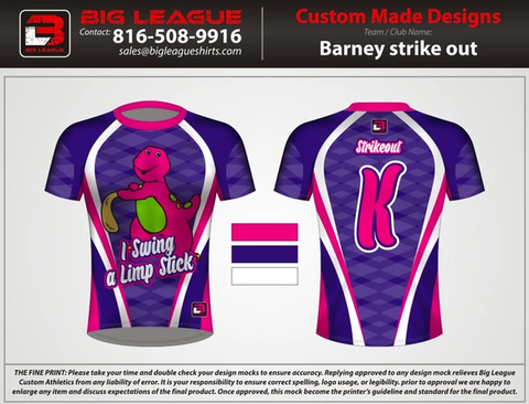 Barney Strikeout - Buy In