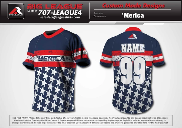 Merica Stars & Stripes - Softball - Buy In