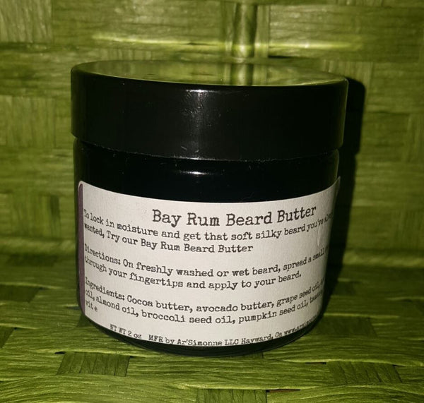Beard Butter Premium 2 oz w/ pumpkin & broccoli seed oils