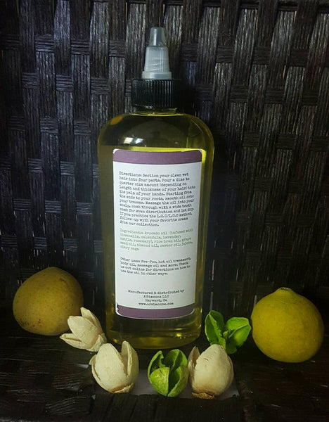 Herbal Infused Conditioning Sealing Oil