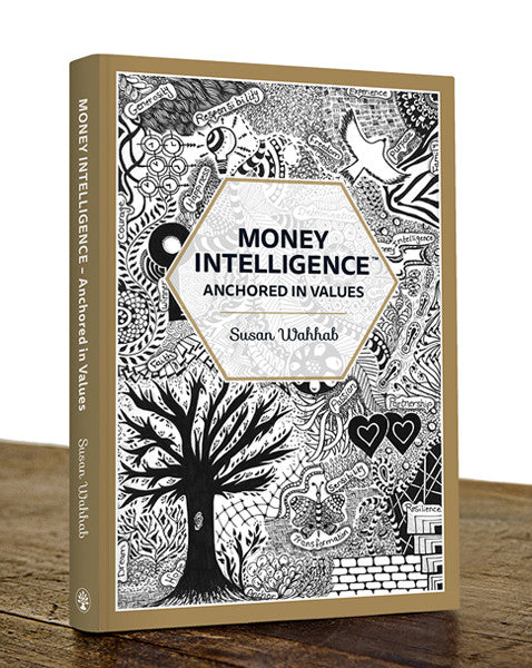Money Intelligence® Book with 2 Mandala style colouring sheets