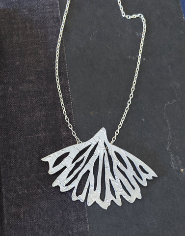 When the Quiet Comes - Sterling Silver Necklace