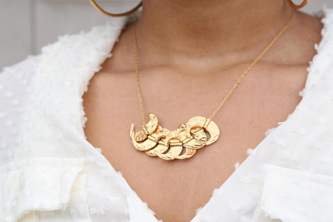 Golden Fangs Necklace