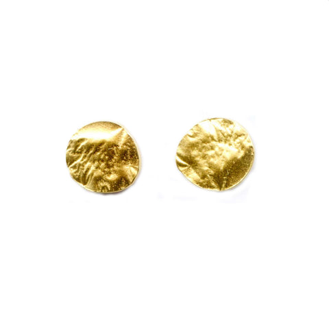 Medium Reticulated Vermiel Stud Post Earrings