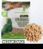 ZuPreem BIRDS Pellets NATURAL Medium Large