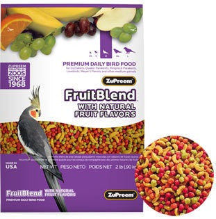 ZuPreem BIRDS Pellets FruitBlend Medium