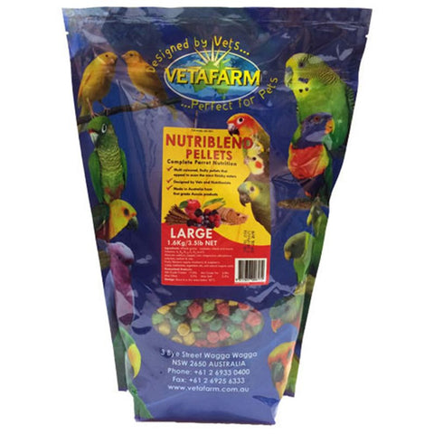 Vetafarm Nutriblend LARGE Pellets