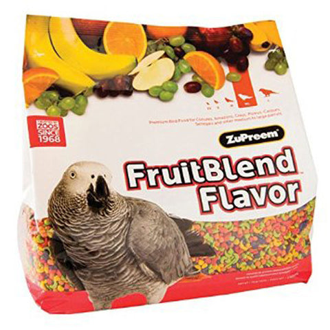 ZuPreem BIRDS Pellets FruitBlend Medium Large