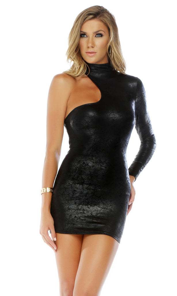 Caitlyn Dramatic One Sleeve Bodycon