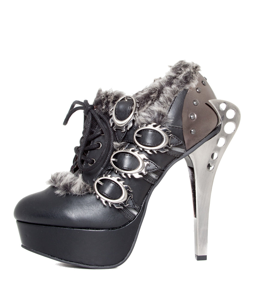 Monarch Steampunk Ankle Boots