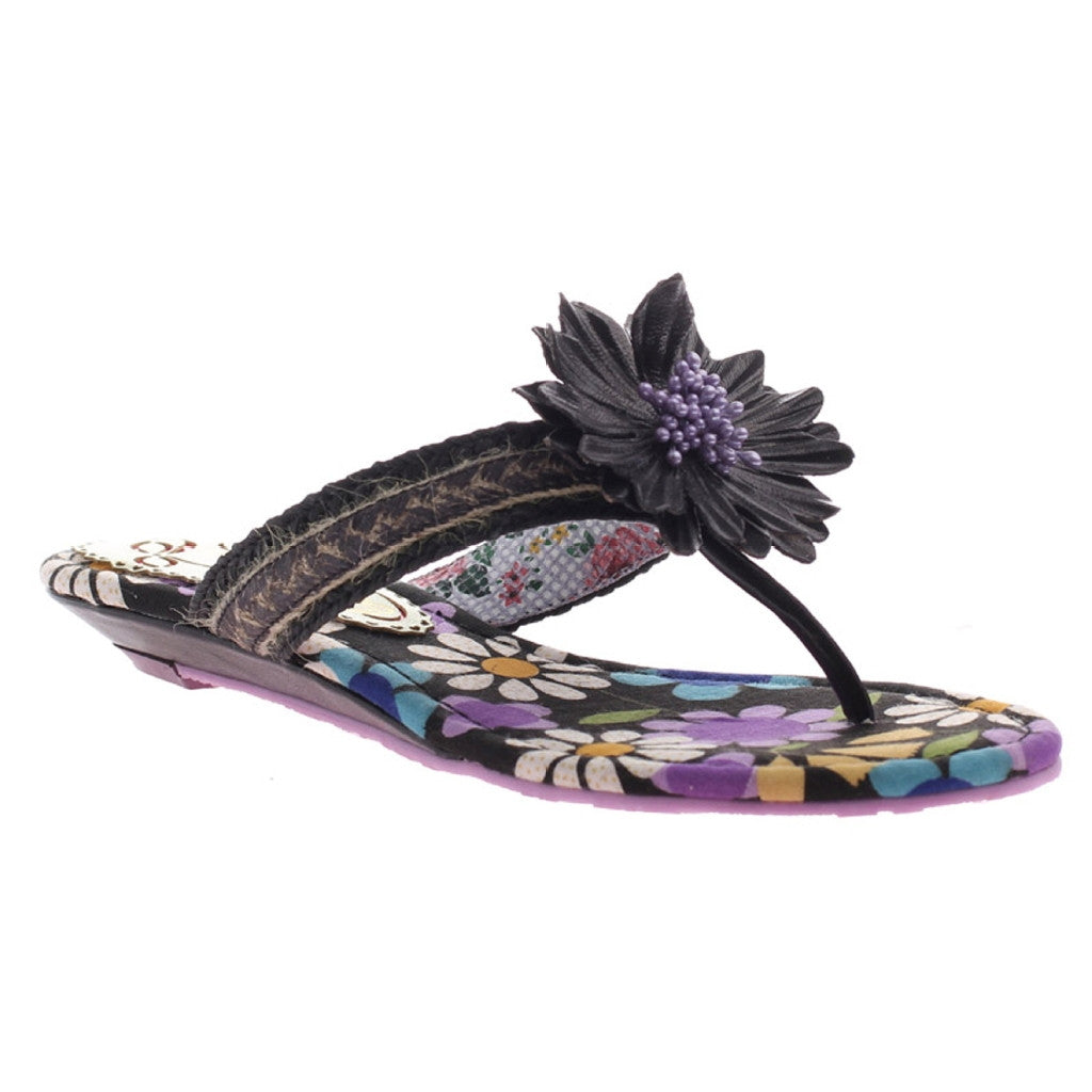 "AB ""Oh Momma"" Floral Thong Sandals"