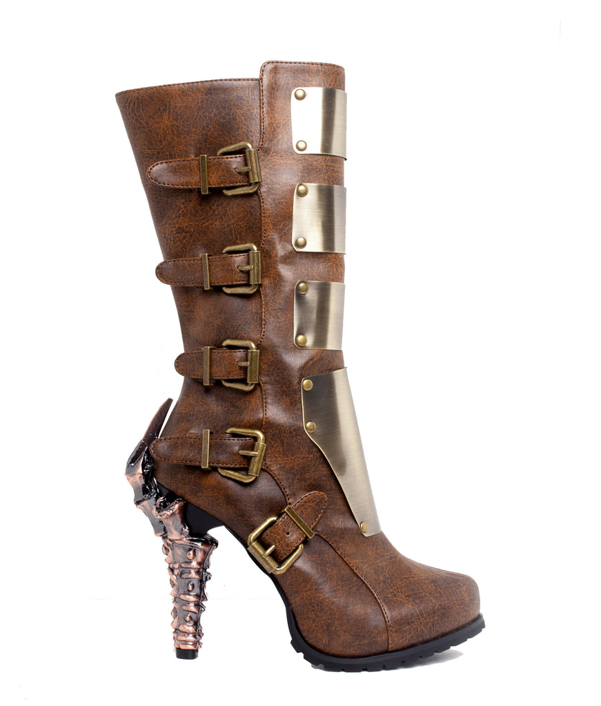 Varga Knee High Biker Boots