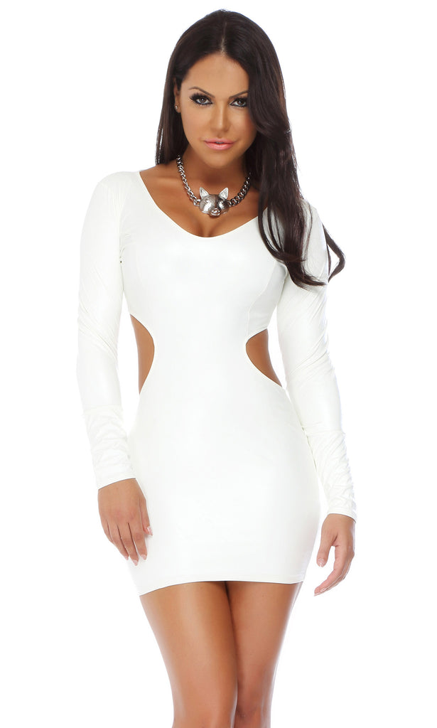 Holly Bombshell Back Cutout Dress
