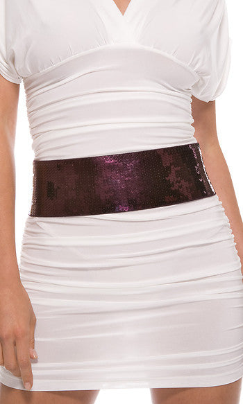 Sequin Belt