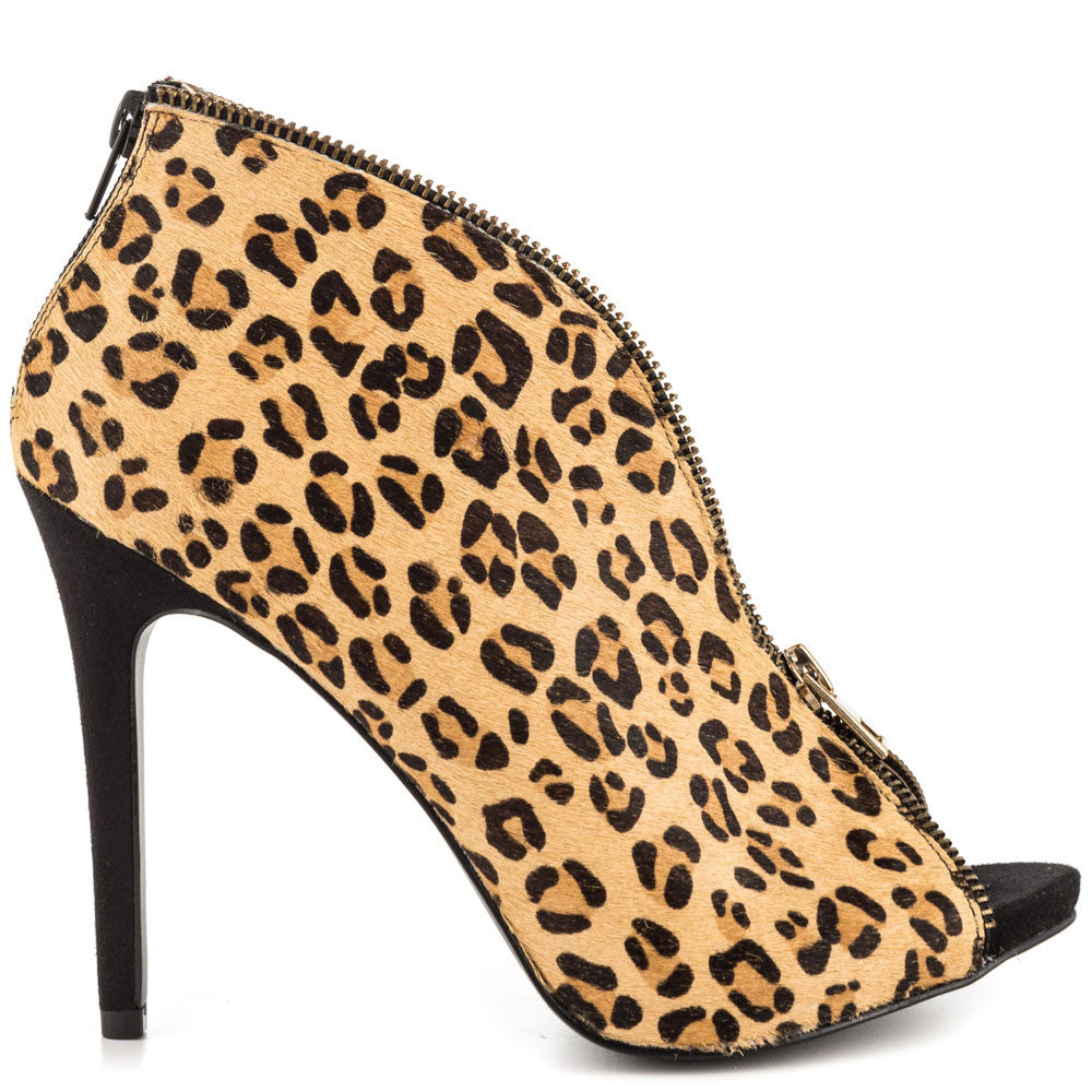 Carlos- Veruca Leopard Leather