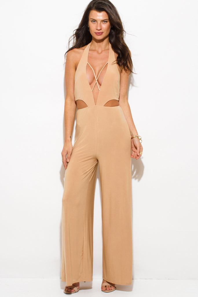Jane Criss-Cross Jumpsuit