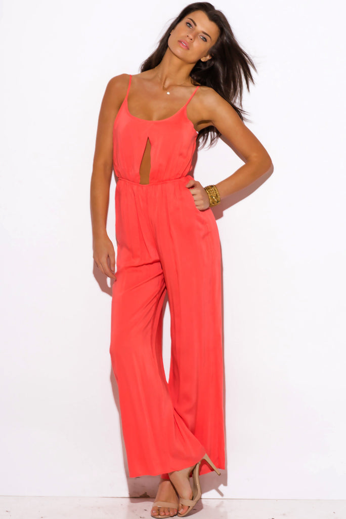 Meredith Cut-Out Jumpsuit