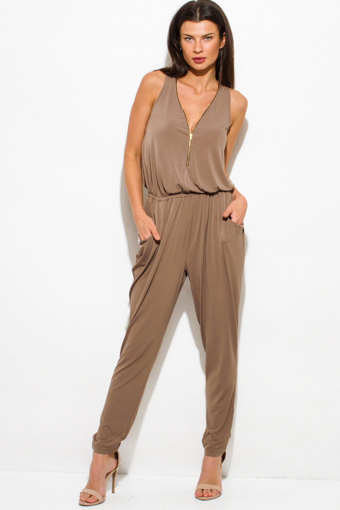Lola V-Neck Jumpsuit