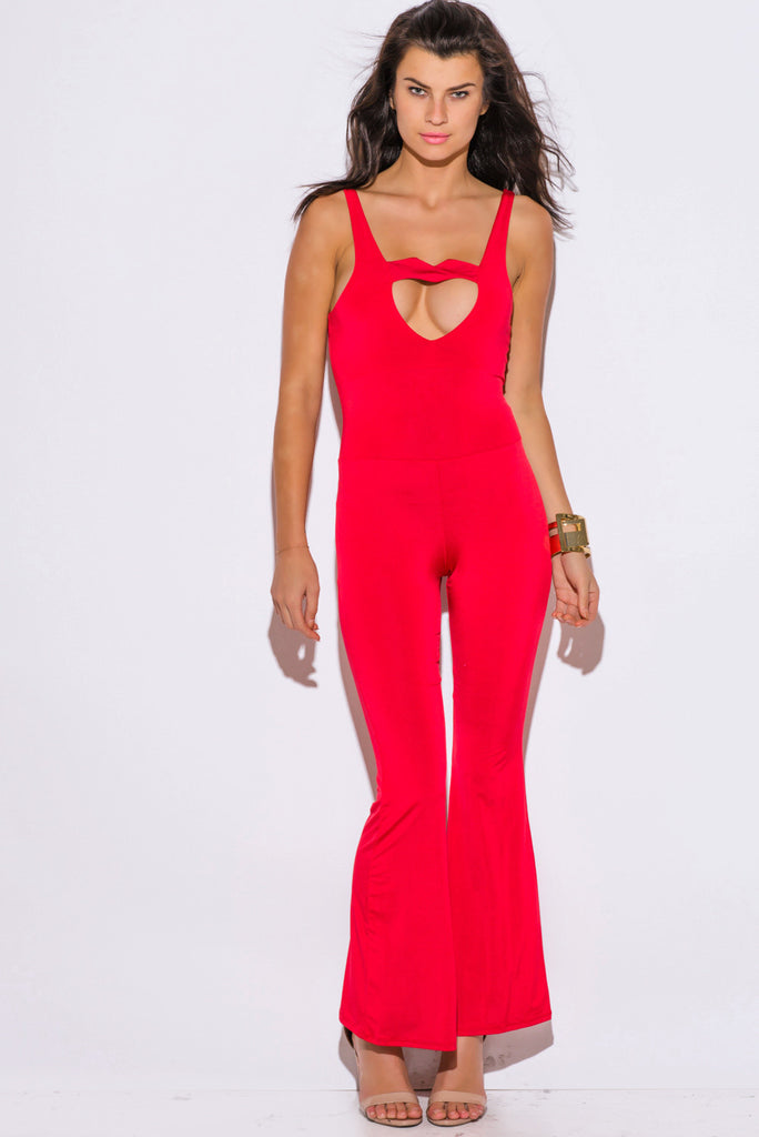 Meghan Cut-Out Heart Jumpsuit