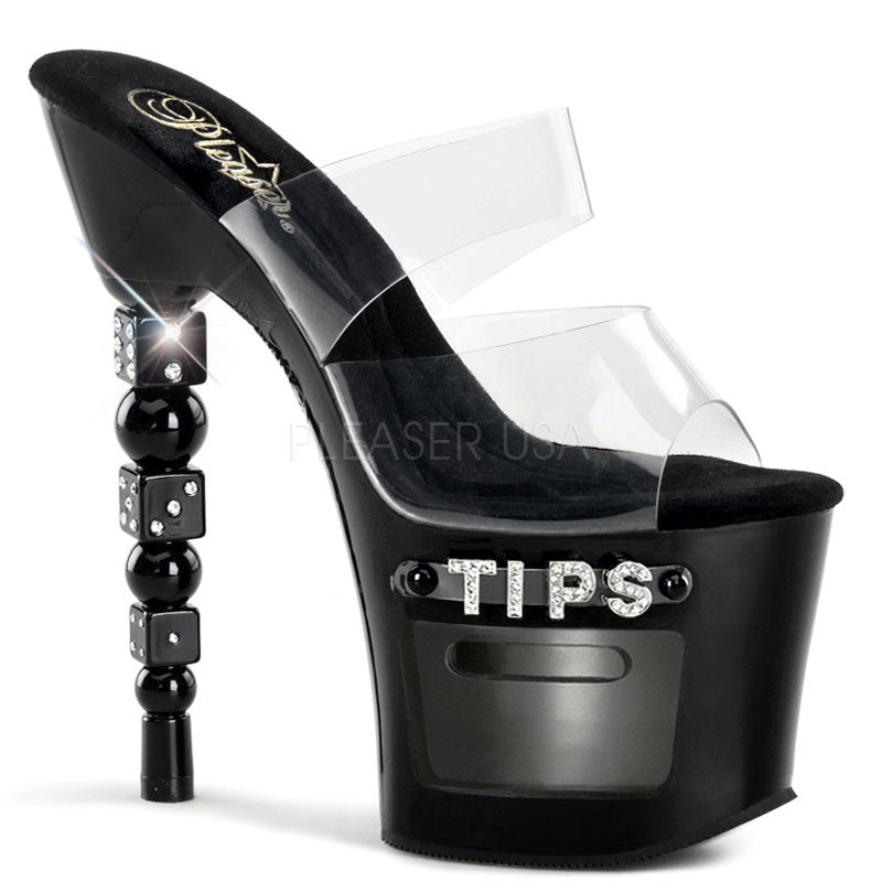 Tip Jar Dice Platform High Heels