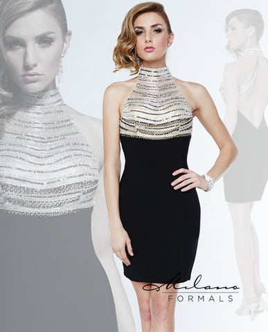 Ava Sequin Jersey Dress