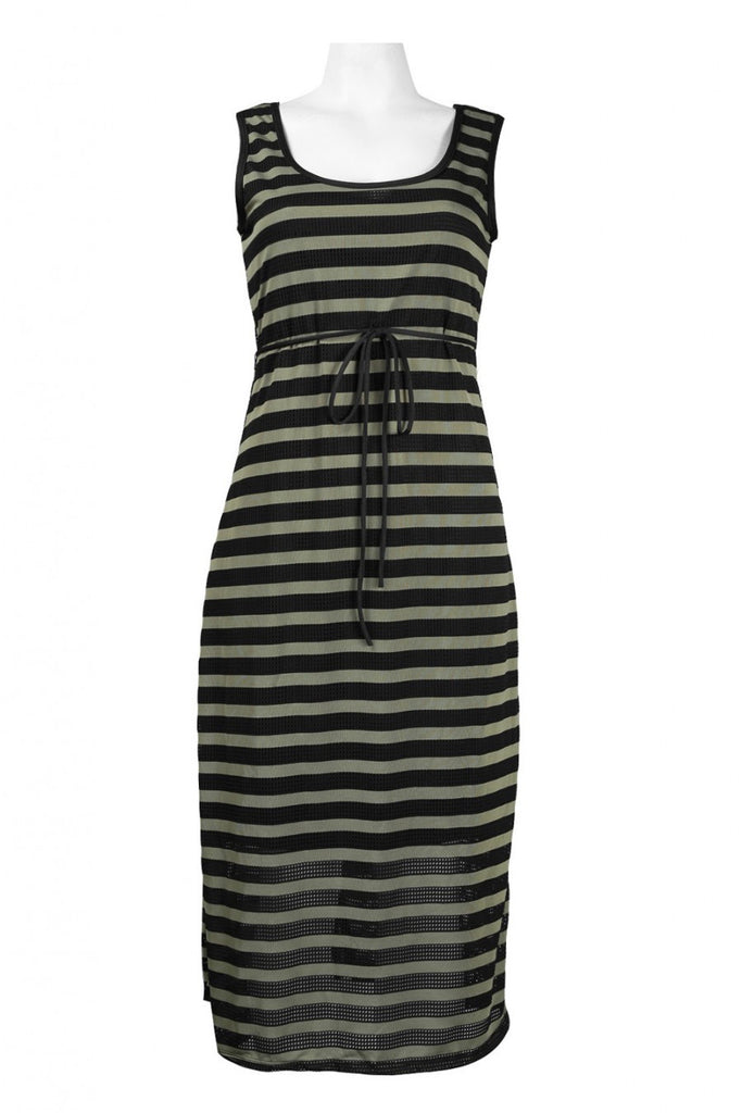 Between The Lines Empire Dress