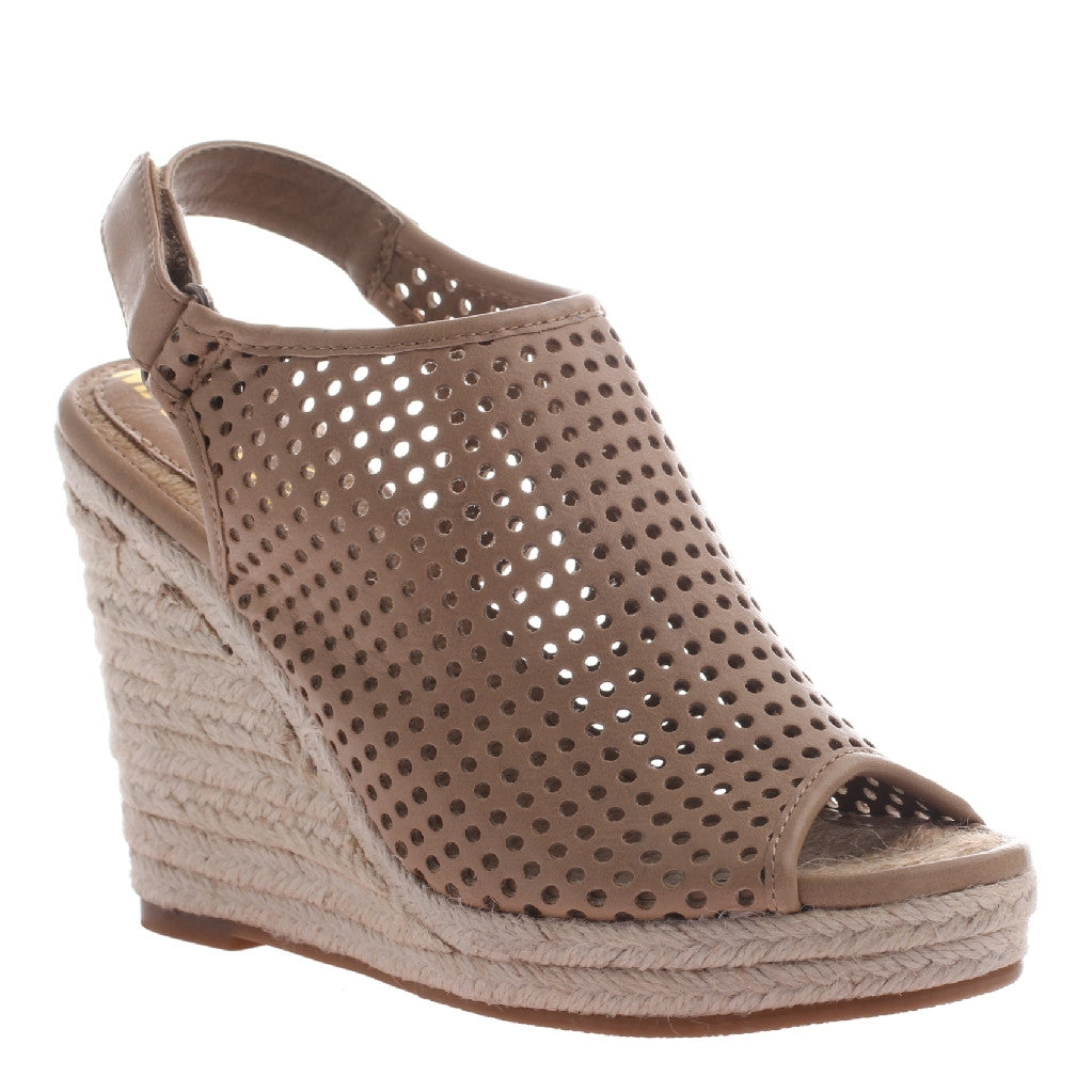 Darcy Sahara Perforated Wedges
