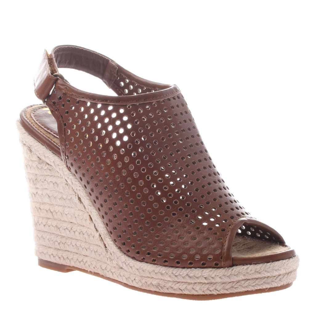 Darcy Walnut Perforated Wedge