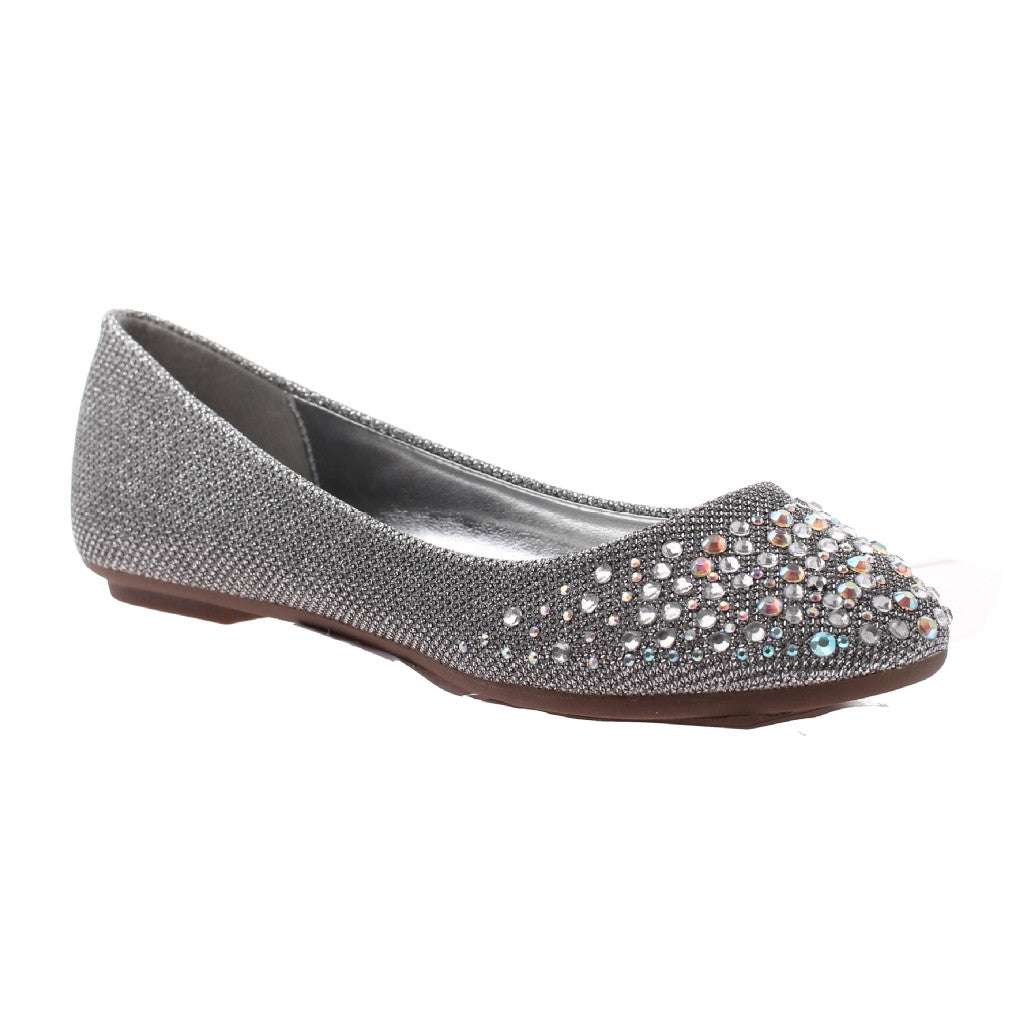 Jazzy Silver Flats