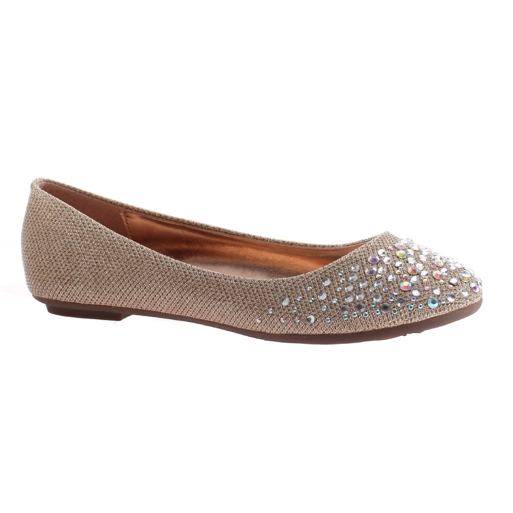Jazzy Taupe Flats