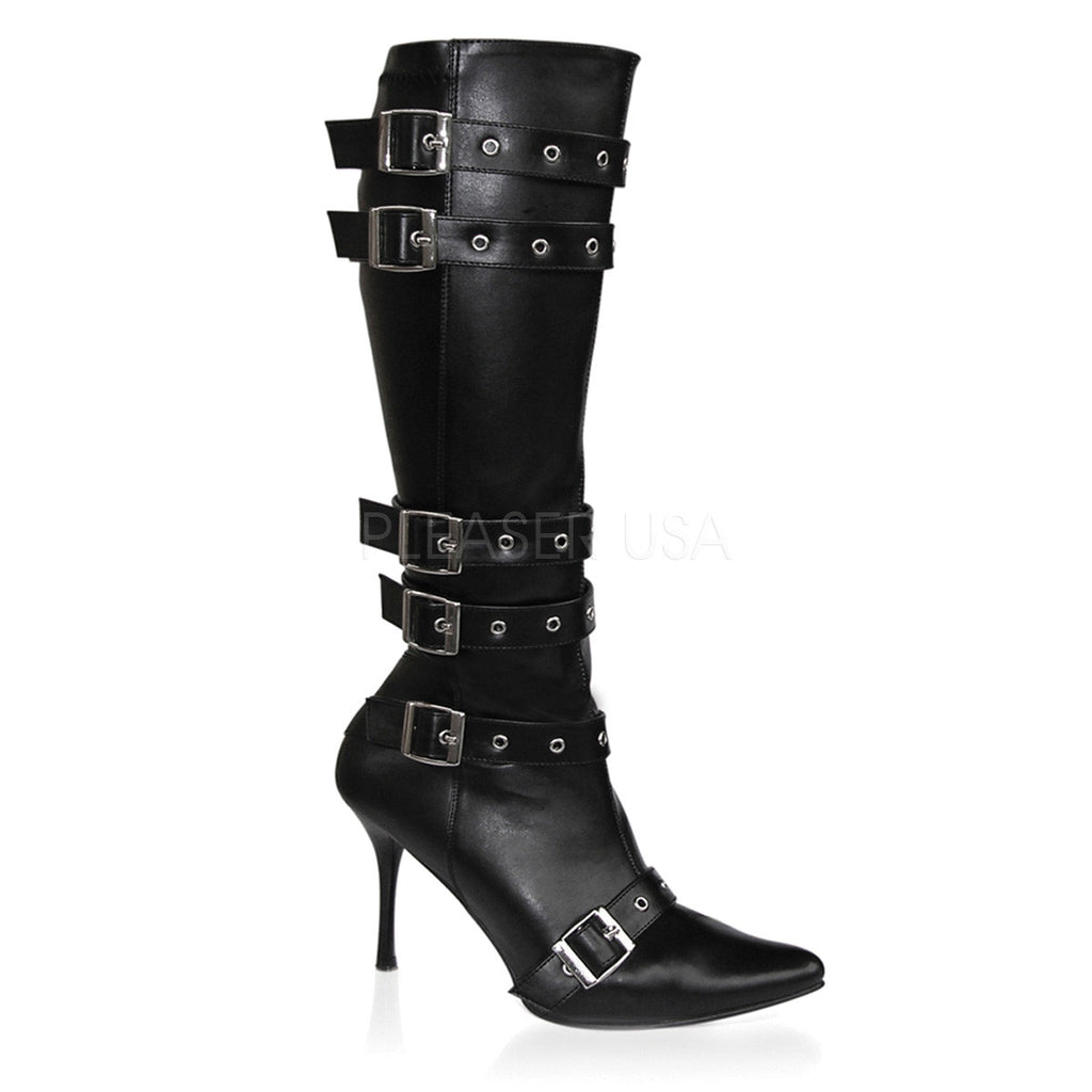 Spicy Leather Knee-High Boots
