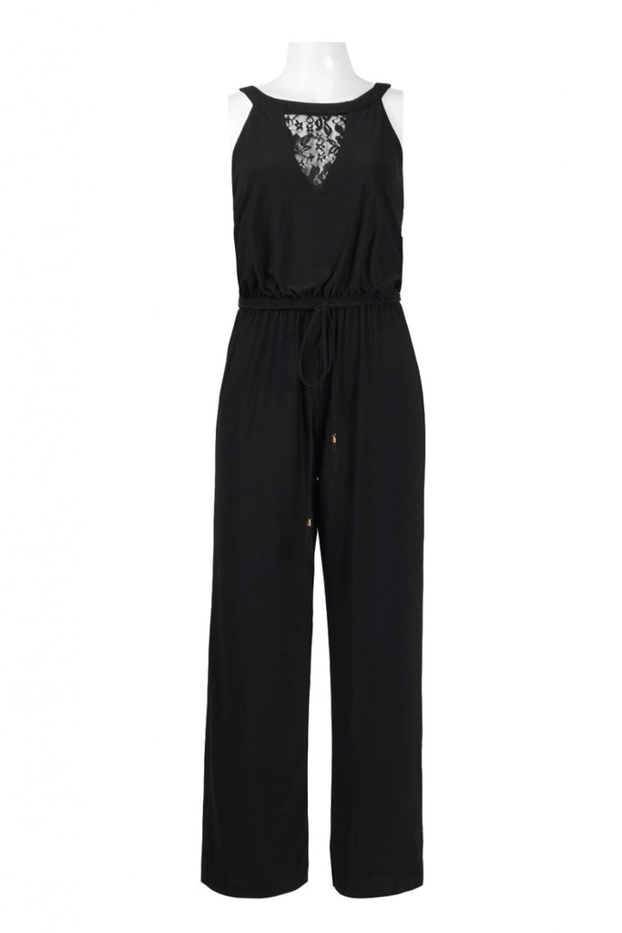 Trendmakers Illusion Front Jersey Jumpsuit