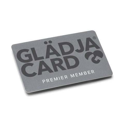 25% Savings on all products with GLÄDJA Premier 1 Year Membership