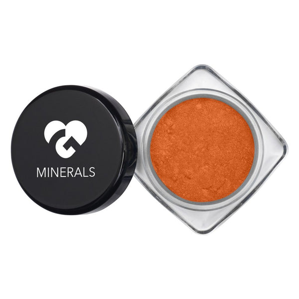 Orange Copper with Matching Flecks Hi-Def Mineral Pigments - 10