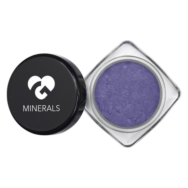Clear Periwinkle Blue Glowing Vibrant Iridescent Hi-Def Mineral Pigments - 11