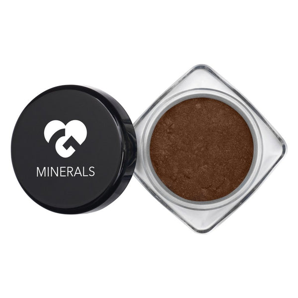 Chocolate Brown with Colorful Flecks Hi-Def Mineral Pigments - 2